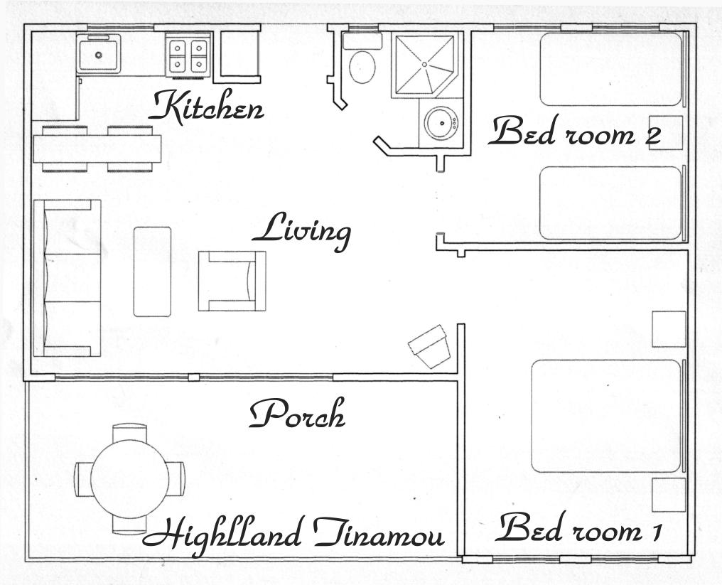 Floor plan Highland Tinamou